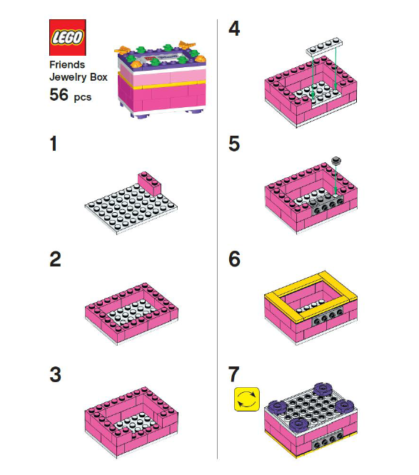 Friends Bricks Lego Friends Building Instructions