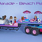 Beach Party Float by Bricksky