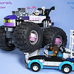 Stephanie's Monster Truck by Bricksky