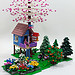 Cherry Blossom Treehouse by Cale Leiphart