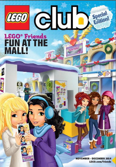 LEGO Friends Special Edition magazine Nov - Dec 2014 USA