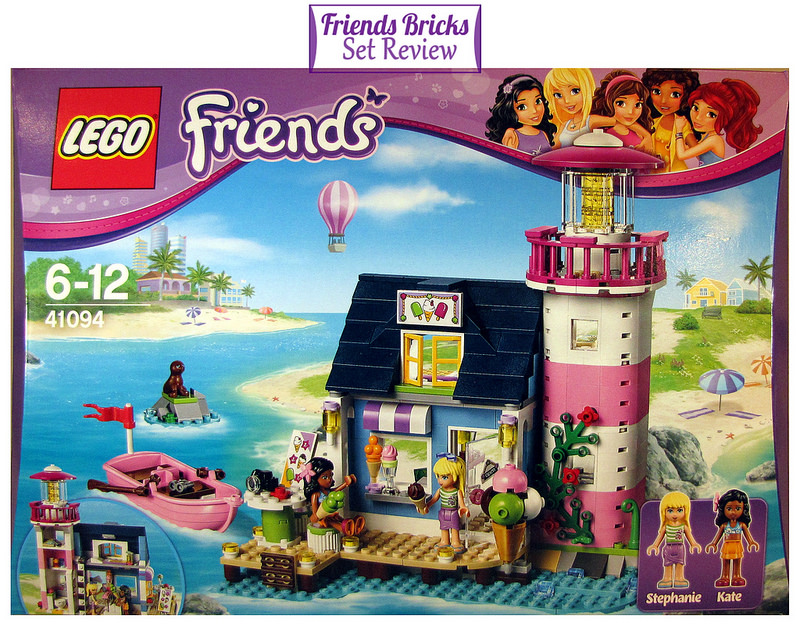 Friends Bricks Heartlake Lighthouse Review