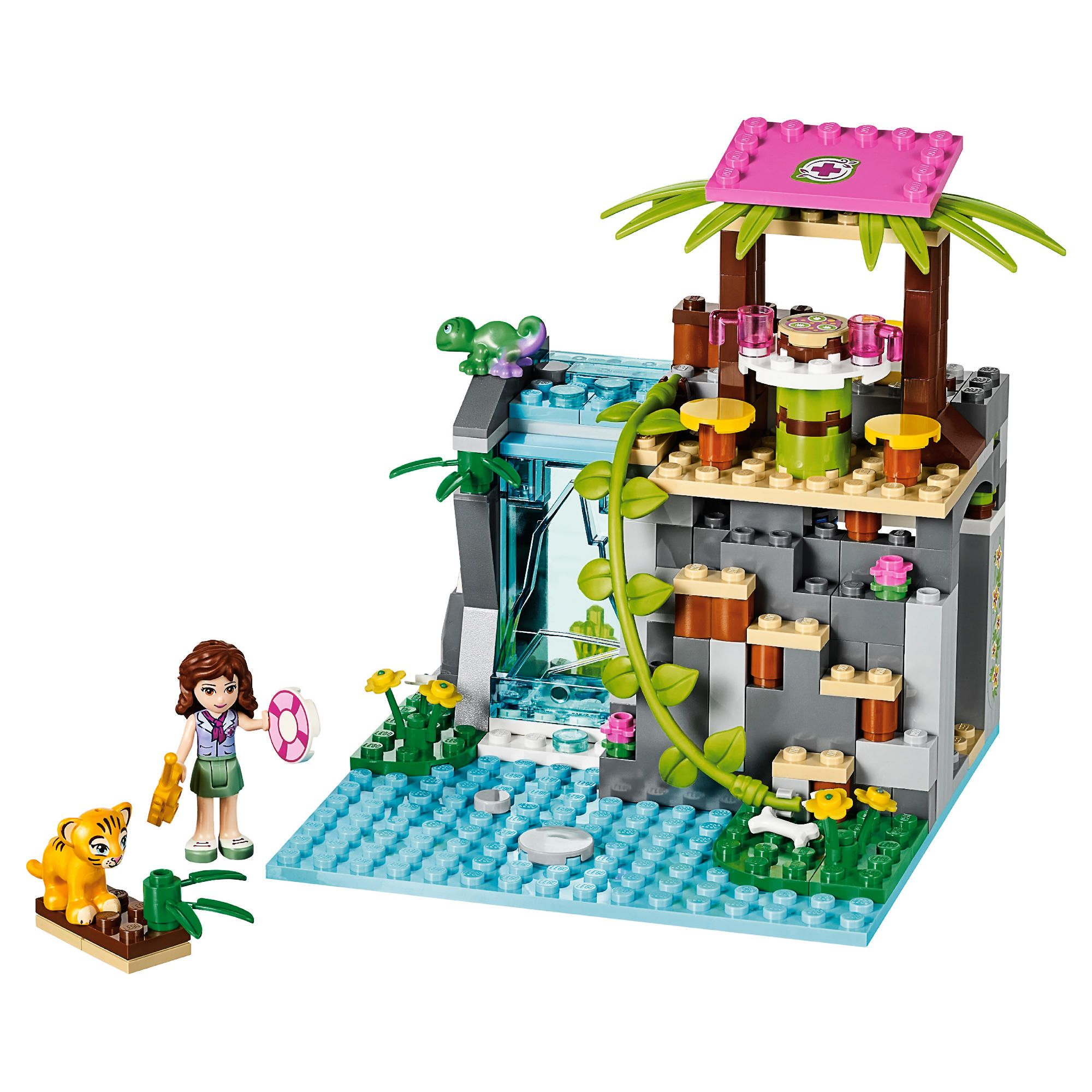 Friendsbricks lego friends sets summer 2014 for Olivia s garden pool instructions