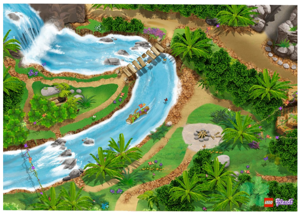 LEGO Friends Jungle Playmat