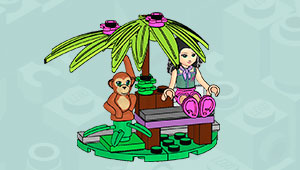 LEGO Friends Jungle Bench