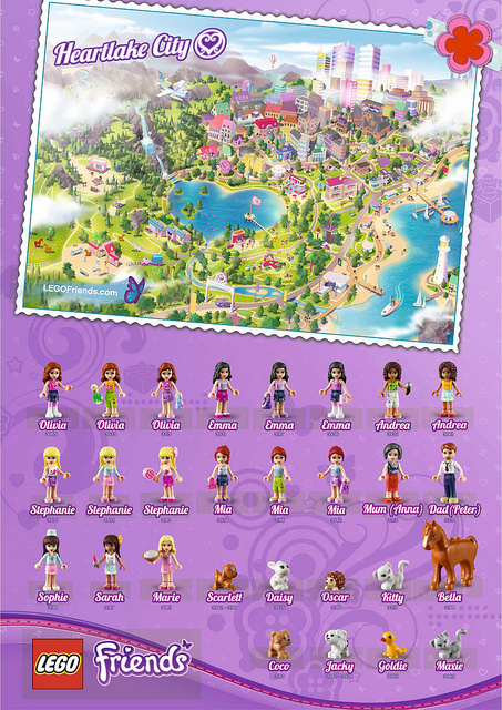 LEGO Friends Poster