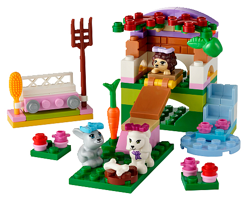 LEGO Friends Series 2 Animals combo build