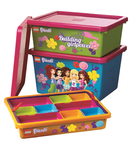 LEGO Friends storage containers