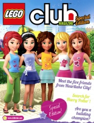 LEGO Friends in LEGO Club Magazines