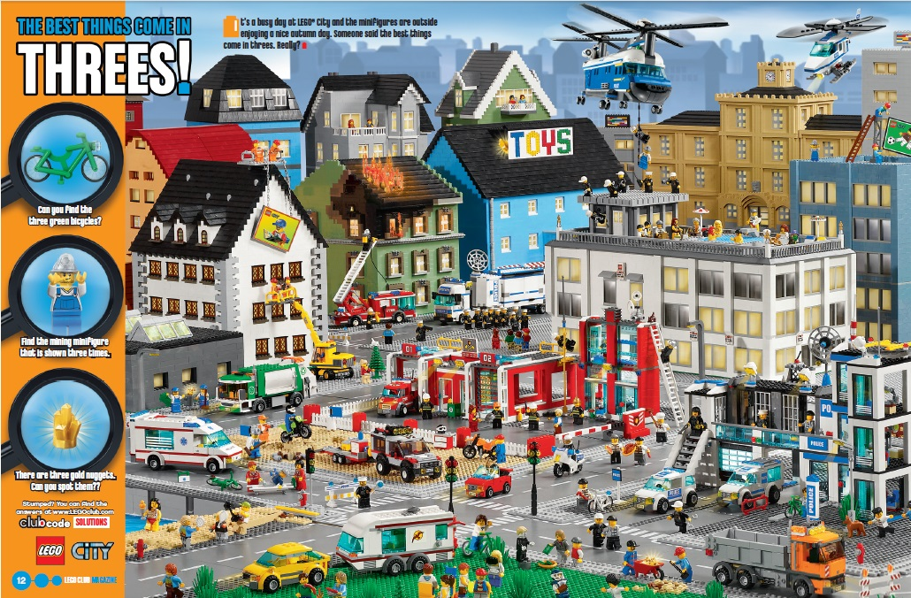 how to get lego club magazines