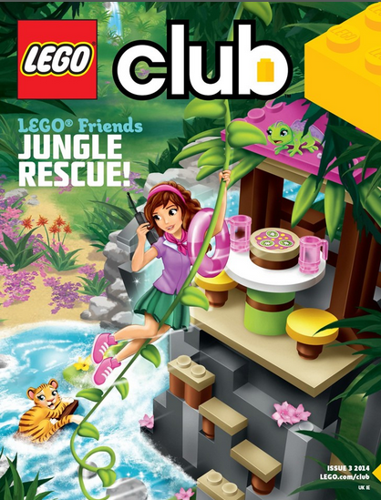 LEGO Friends magazine Issue 3 2014