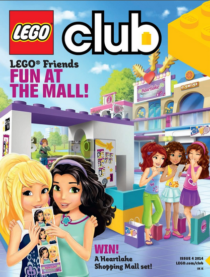LEGO Friends magazine Issue 4 2014