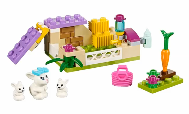 LEGO Friends Bunny and Babies 41087