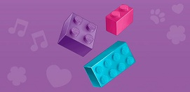 LEGO Friends bricks