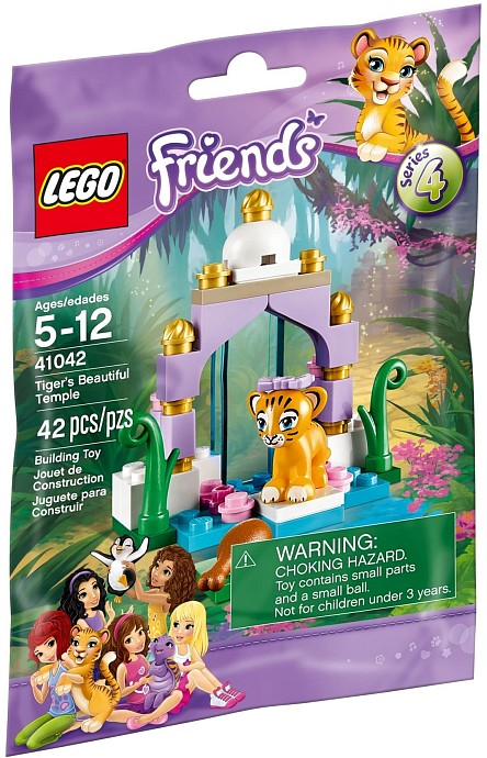 LEGO Friends Tiger's Beautiful Temple #41042