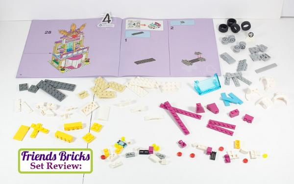 lego friends heartlake shopping mall instructions