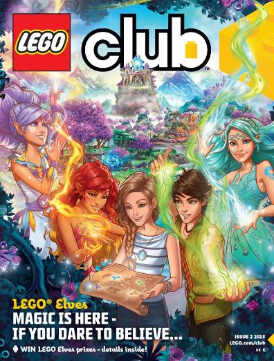 LEGO Elves Club magazine for girls, Issue 2, 2015