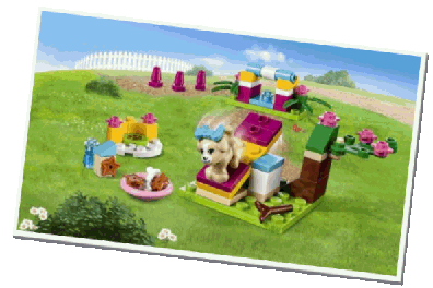 LEGO Friends Puppy Training 41088
