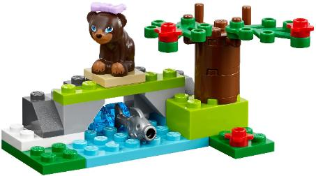 LEGO Friends Brown Bear's River alternate build