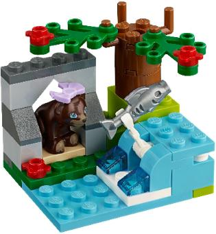 LEGO Friends Brown Bear's River