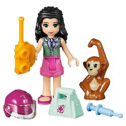 LEGO Friends First Aid Jungle Bike #41032 Emma with accessories & Orangutan