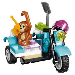 LEGO Friends First Aid Jungle Bike #41032 Orangutan on sidecar