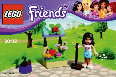 LEGO Friends Flower Stand polybag #30112