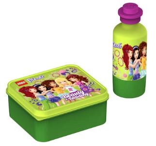 LEGO Friends Lunchbox Water Bottle