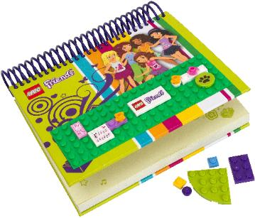 LEGO Friends Notebook #850595