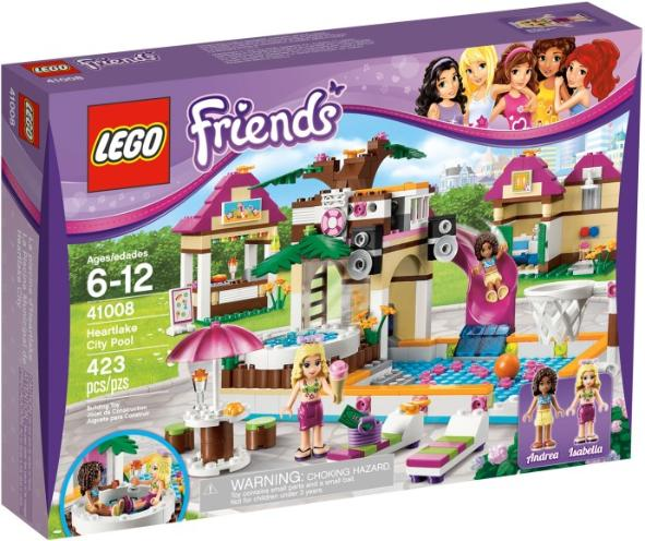 LEGO Friends Heartlake City Pool #41008