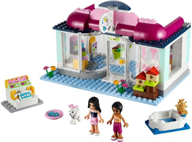 LEGO Friends heartlake Pet Salon #41007