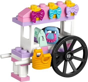 Heartlake Shopping Mall accessories cart