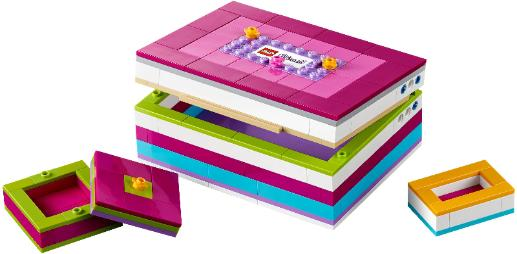 LEGO Friends jewelry box