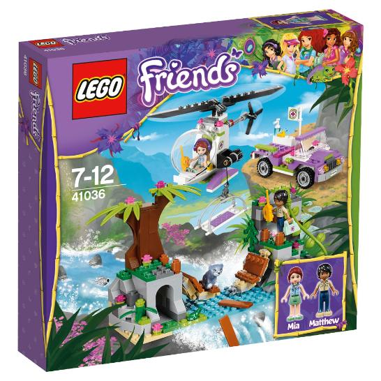 LEGO Friends Jungle Bridge Rescue #41036