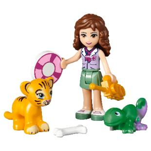 LEGO Friends Jungle Falls Rescue #41033 Olivia & animals