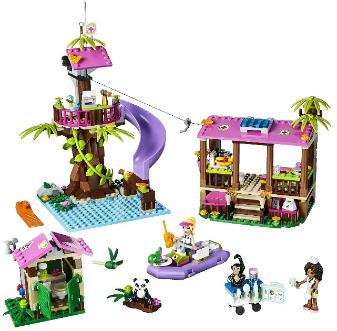 LEGO Friends Jungle Rescue Base #41038