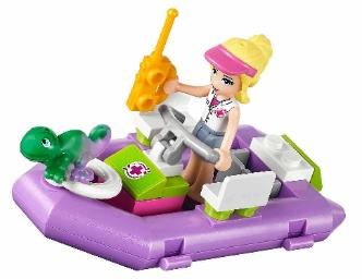 LEGO Friends Jungle Rescue Base - Stephanie