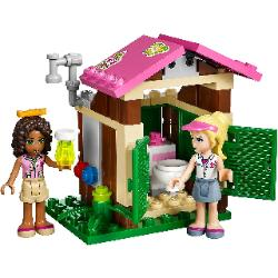 LEGO Friends Jungle Rescue Base bath hut