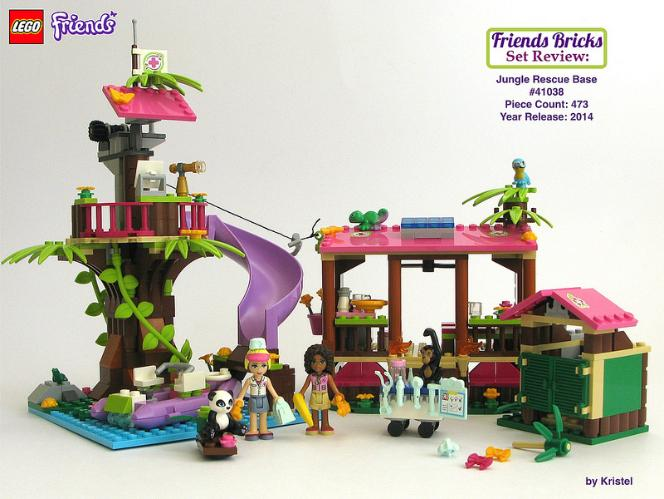 LEGO Friends Jungle Rescue Base Review #41038