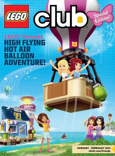 LEGO Friends Club magazine January 2015