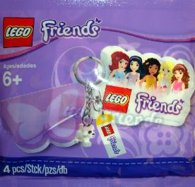 LEGO Friends special event Puppy Keychain
