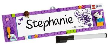 LEGO Friends Name Sign