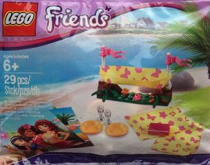 LEGO Friends Beach Hammock 2014