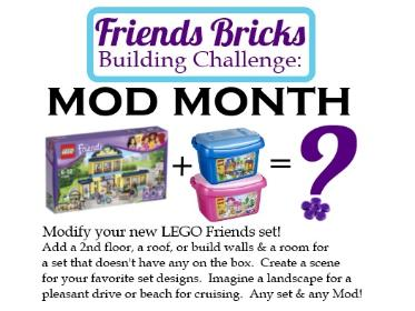 LEGO Friends building challenge