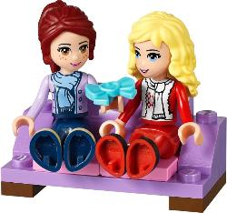 LEGO Friends 2014 Advent Calendar Mia and Ewa on the Sofa