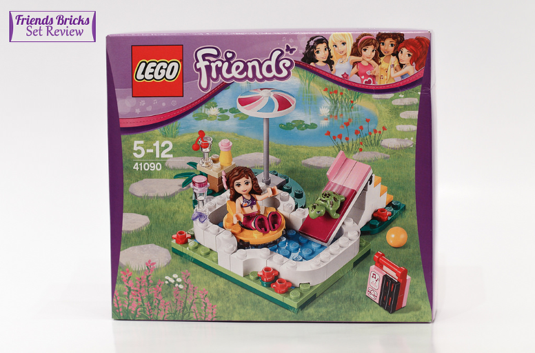 friends bricks olivia 39 s garden pool review