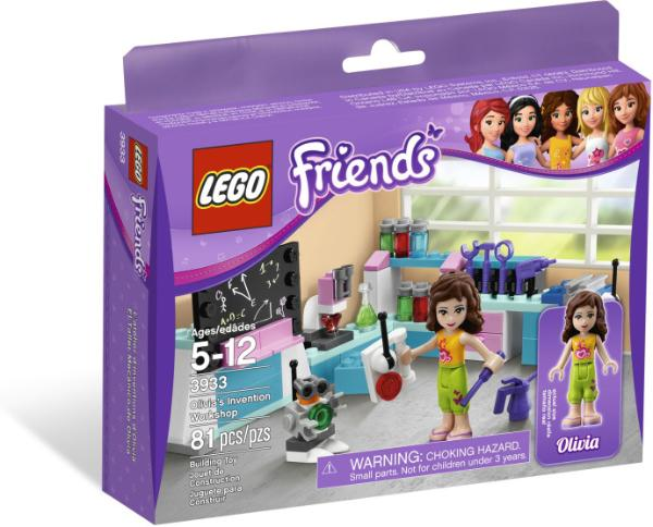 LEGO Friends Olivia's Invention Workshop #3933
