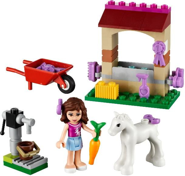 LEGO Friends Olivia's Newborn Foal #41003