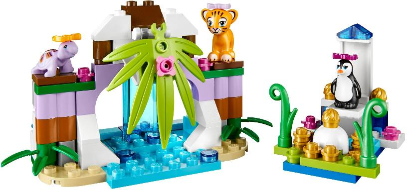Series 4 LEGO Friends Animals combo build