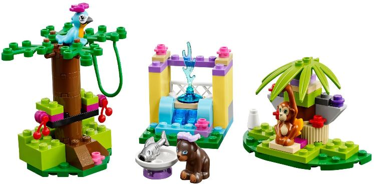 LEGO Friends Series 5 Animals combo build